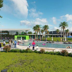 מרכז הספורט ופארק המים